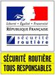 Logo Securite Routiere
